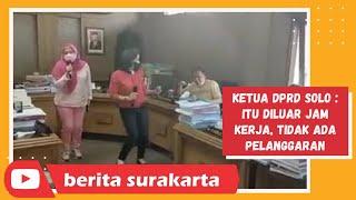 Heboh Anggota DPRD Solo Karaoke di Ruang Komisi Saat PPKM Darurat