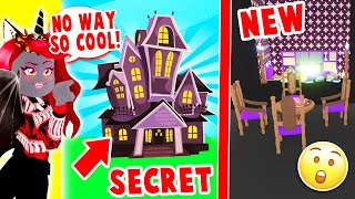 I Built A SECRET House For A WITCH Build Challenge In Adopt Me! (Roblox)