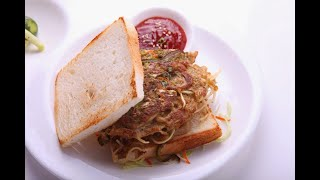 Chinese Noodle Omlet - Mrs Vahchef