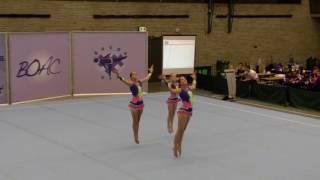 BOAC 2016   167   042   Women's Group   Age Group   Balance   NED   Forza Gymnastica NED, Aurelia Ci