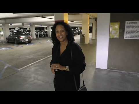 Tia Mowry shares thoughts on Doja Cat's song Tia Tamera outside ArcLight Theatres in Hollywood  Merg