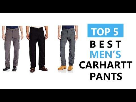Top 5 Best Men's Carhartt Pants Review 2017