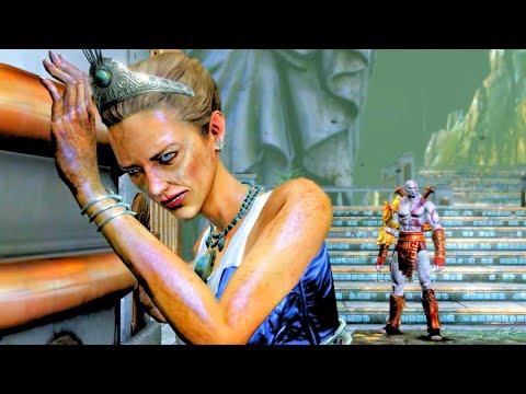 God of War 3 Remastered Kratos Kills Hera HD 60FPS 1080p