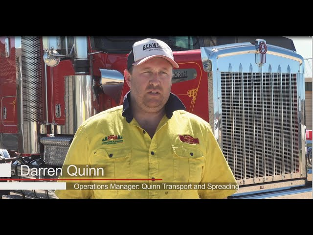 PACCAR Portrait - Quinn Transport and Spreading