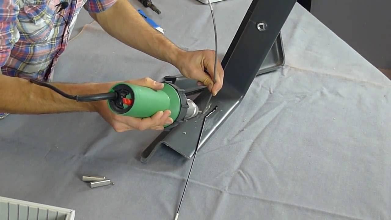 hight resolution of plastic welding how to weld plastic instructional video trimfix australia youtube