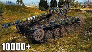 AMX 13 90 как играют статисты на лт 🌟 10000 СВЕТ 🌟 World of Tanks лучший бой амх 13 90