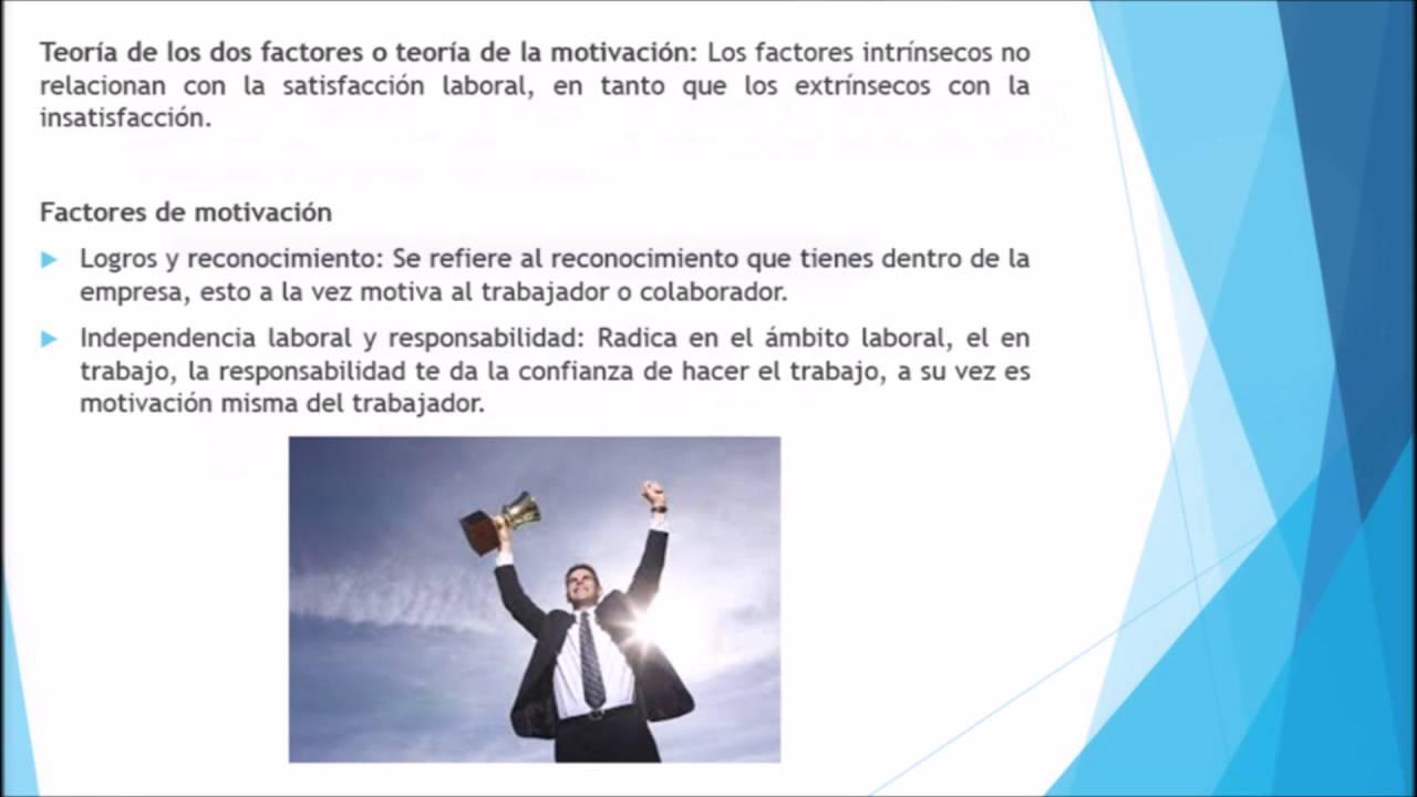Teoría Factores Higiénicos De Herzberg Youtube