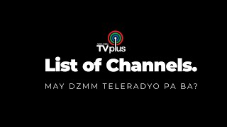 ABS CBN TV Plus NEW Channels