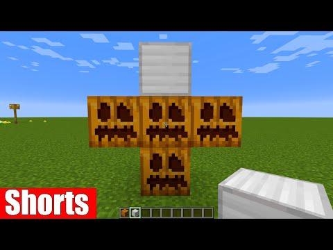 เมื่อผมสร้าง Iron Golem กลับหัว!! 🔥 #shorts