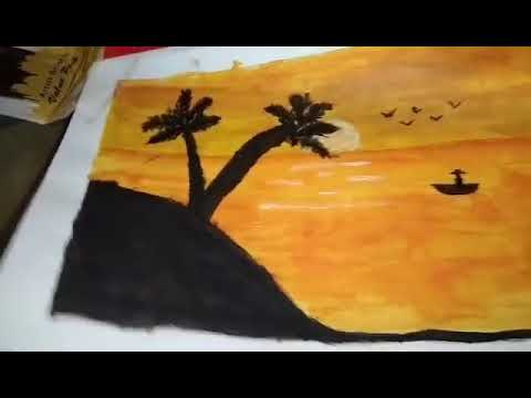 Easy Landscape painting