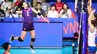 Sarina Koga 古賀 紗理那 dismantles her opponents! | VNL 2019 | Highlights Volleyball World