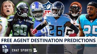 NFL Free Agents: Predicting Where Jadeveon Clowney, Logan Ryan, Clay Matthews & Others Sign In 2020