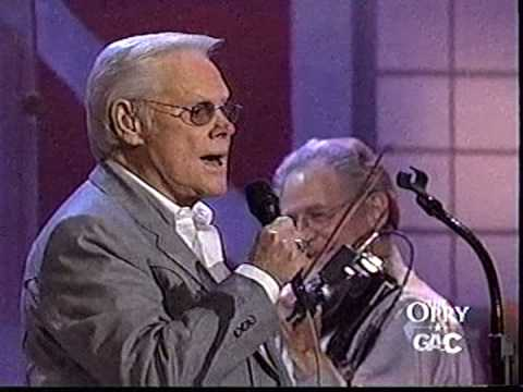 George Jones singing