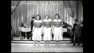 THE ANDREWS SISTERS   TEGUCIGALPA