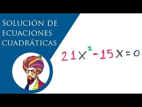 Solución de ecuaciones cuadráticas mixtas │ BALDOR from YouTube · Duration:  12 minutes 36 seconds