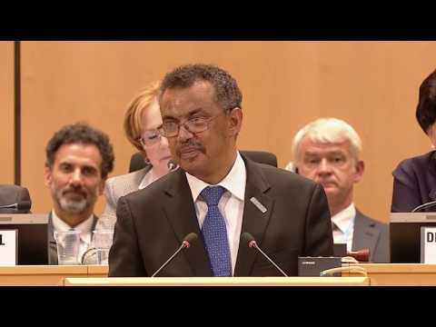 WHO: Appointment of Dr Tedros Adhanom Ghebreyesus as new WHO Director-General