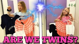 Twin Telepathy Outfit Challenge!!!