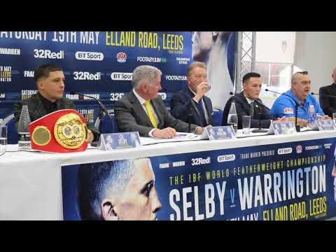 FIERY & HOSTILE! - LEE SELBY v JOSH WARRINGTON - *FULL & UNCUT* PRESS CONFERENCE (ELLAND RD)