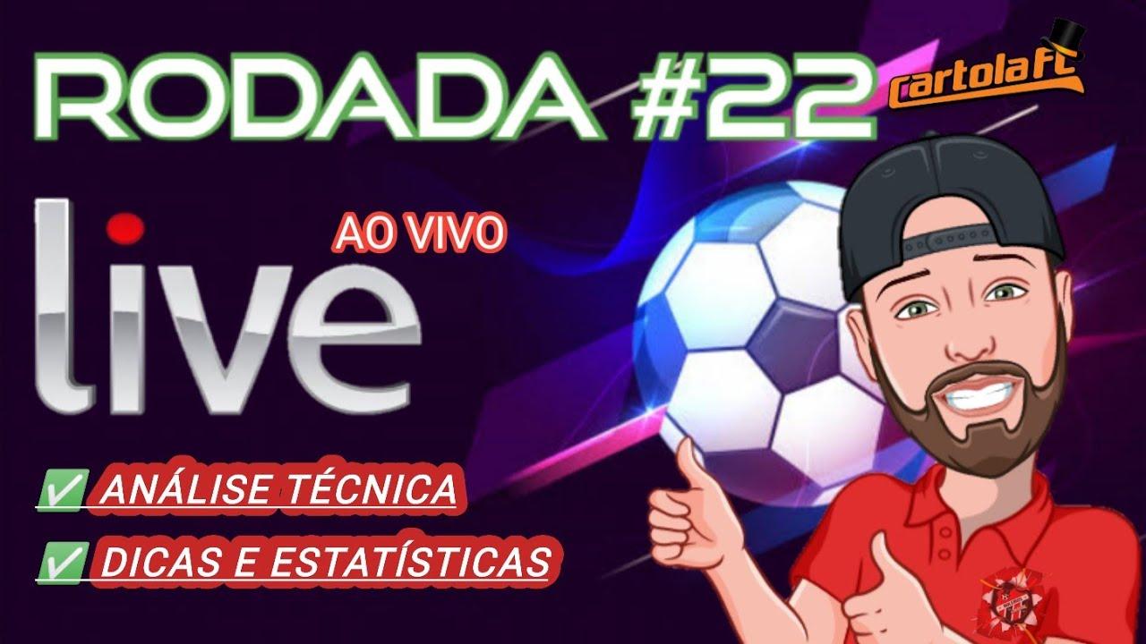 Download CARTOLA FC 2020: LIVE AO VIVO -  RODADA #22 - DICAS, ANALISE TÁTICA COMPLETA, VENHA MITAR.