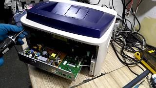 Инструкция ремонт Xerox Phaser 3140 щелкает не выходит в готовность