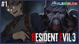 【Resident Evil 3】Indonesian VTuber plays: RE3 Remake【NIJISANJI ID | Taka Radjiman】