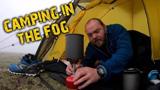 Camping in fog | The Lake District