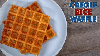 Rice Waffle Recipe 1910 Picayunes Creole Cookbook - Old Cookbook Show - Glen And Friends Cooking