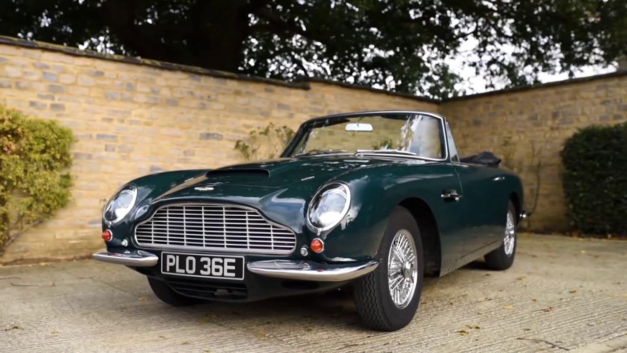 1967 Aston Martin Db6 Vantage Volante Youtube