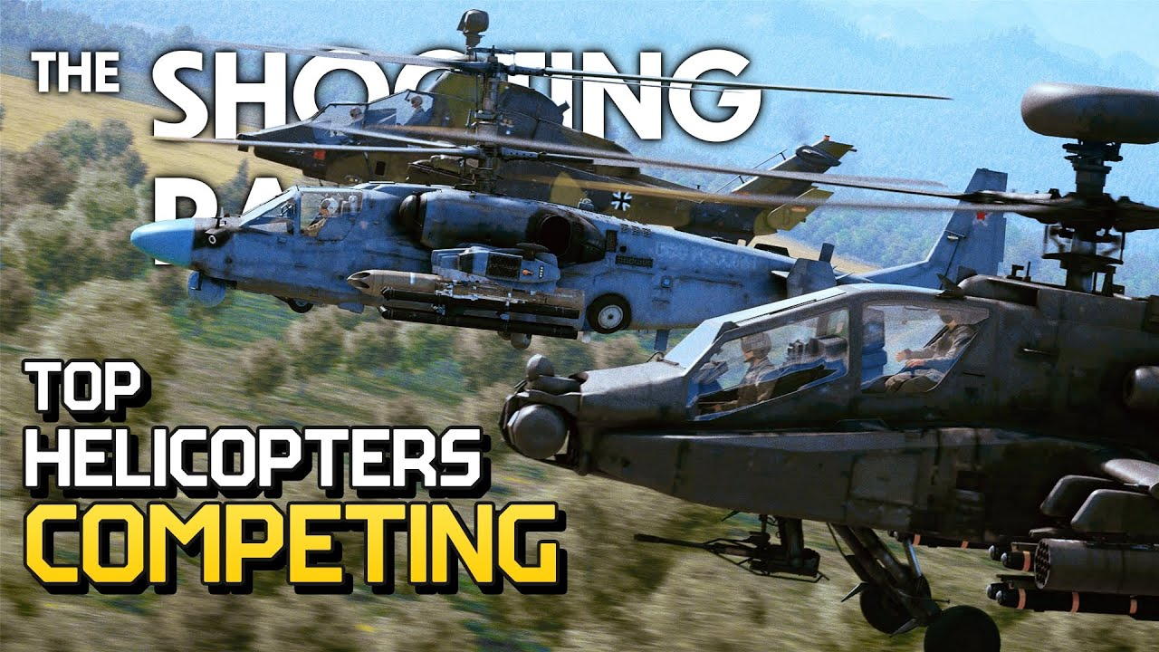 THE SHOOTING RANGE #212: Top helicopter competing / War Thunder