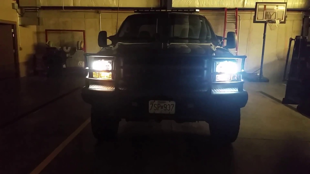 Led Head And Tail Lights 02 F250