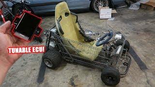Turbo Shopping Go Kart Update (Full EFI Kit)