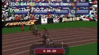 3DO Games Decathlon Gameplay Demonstration
