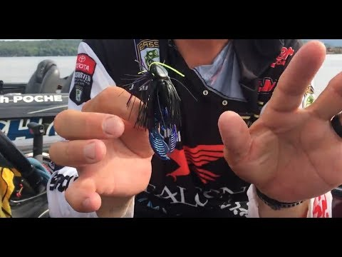 Great tip on quickly changing your jig color without retying!