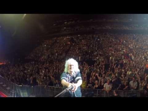 Selfie Stick Video | Montreal, Canada [July 17, 2017] Queen + Adam Lambert