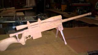 Tactical Rifles And Sniper Rifles Made From Wood