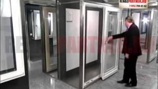 видео Устройство раздвижных пластиковых дверей на веранду