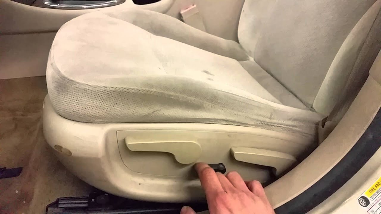 Bl1482 2008 Chevrolet Impala Ls Driver Side Front Seat