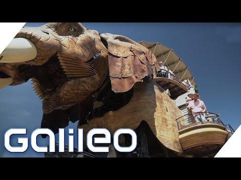 Der außergewöhnliche Steampunk-Freizeitpark in Frankreich   Galileo   ProSieben