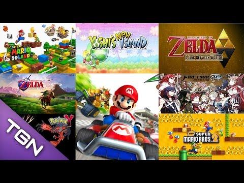 Los 10 Mejores Juegos De Nintendo 3ds Y 4 De Los Mas Esperados Youtube