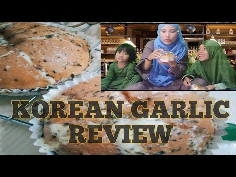 review-korean-garlic-viral-||-makan-bread-garlic-korea