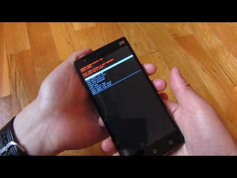 ZTE ZMax 2 - How to Boot to Recovery Mode - YouTube