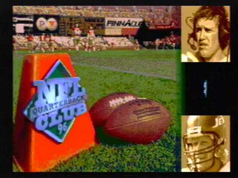 NFL Quarterback Club 96 Intro (SEGA GENESIS)
