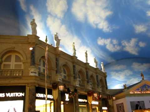 vegas casino with sky ceiling