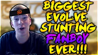 THE BIGGEST EVOLVE STUNTING FANBOY EVER!
