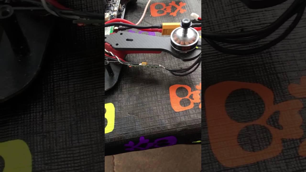 Vortex 250 Pro Troubleshooting Bad Esc Youtube