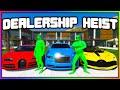 GTA 5 Roleplay - GREEN TEAM DEALERSHIP ROBBERY | RedlineRP