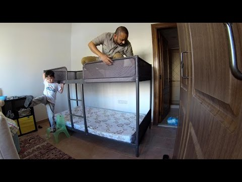 4K Time Lapse Build Ikea Tuffing Bunk Bed