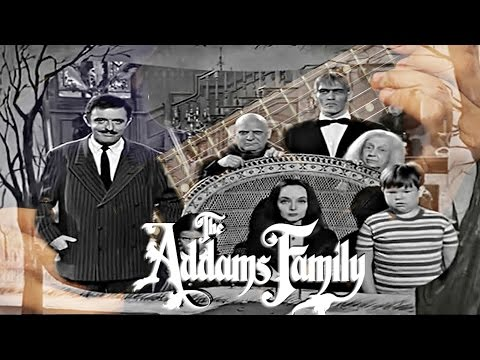 Addams Family Theme Song Metal Guitar