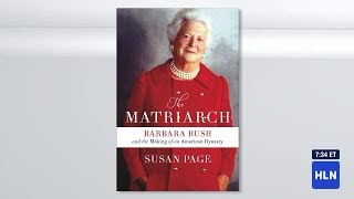 New book reveals First Lady fued between Barbara Bush and Nancy Regan