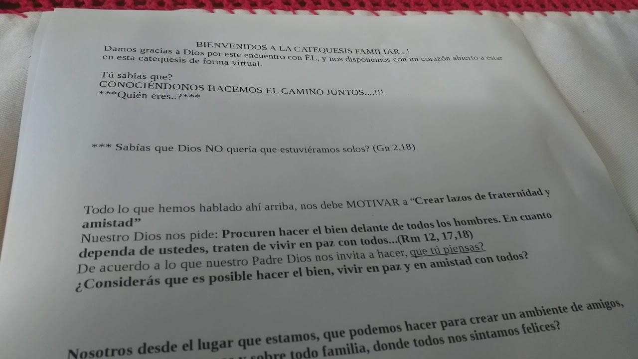 Clase De Catequesis 06 06 2020 1 Youtube